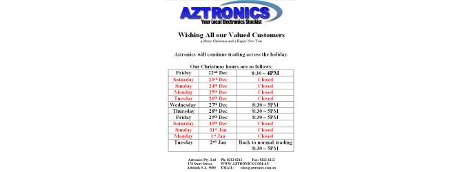 Aztronics Christmas Times